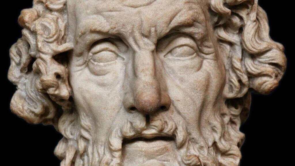 Escultura de Homero