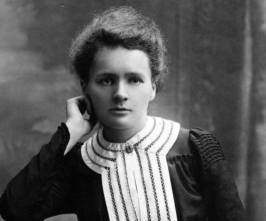 Marie Curie quando jovem