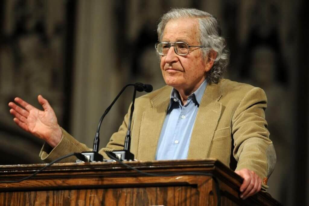 Palestra de Noam Chomsky