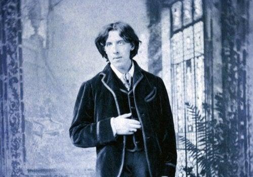 Oscar Wilde quando jovem
