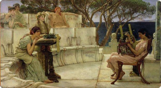 Pintura grega antiga