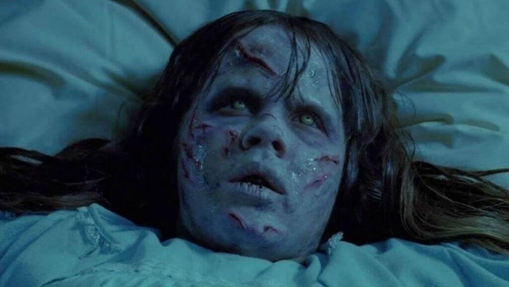 Cena do filme 'O Exorcista'