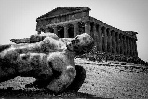 Estátua na Grécia