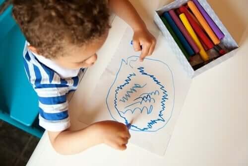 Rabiscos: a linguagem secreta das crianças