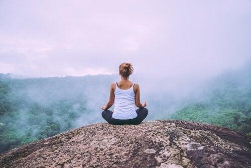 Meditação na natureza
