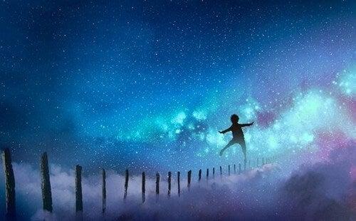 Mergulhar na sua própria imaginação