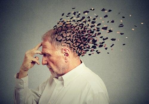 Homem com demência