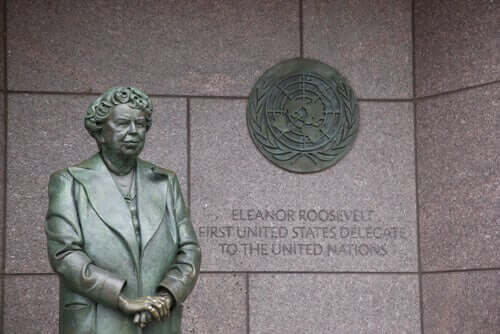 Eleanor Roosevelt, primeira dama