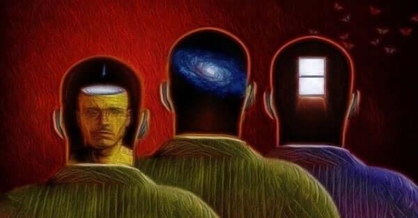 Representação do inconsciente da mente humana