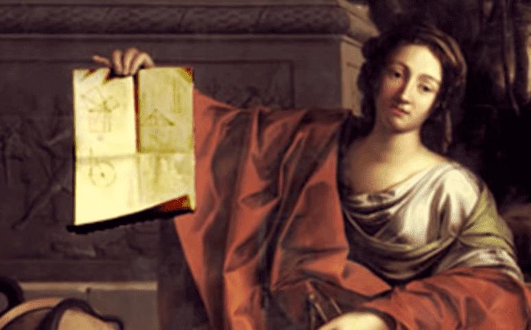 Quadro de Hipátia de Alexandria