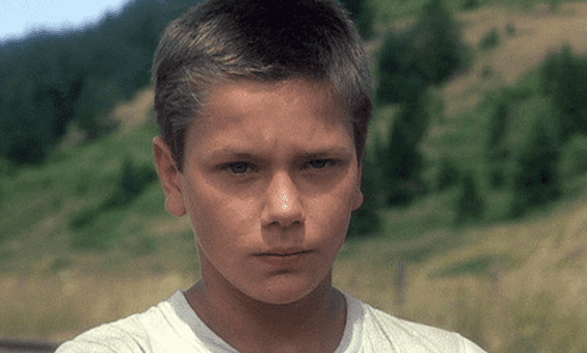 River Phoenix quando criança
