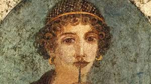 Rosto de Safo de Lesbos