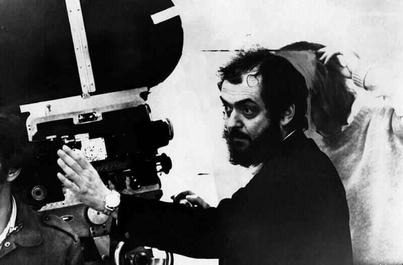 Stanley Kubrick dirigindo