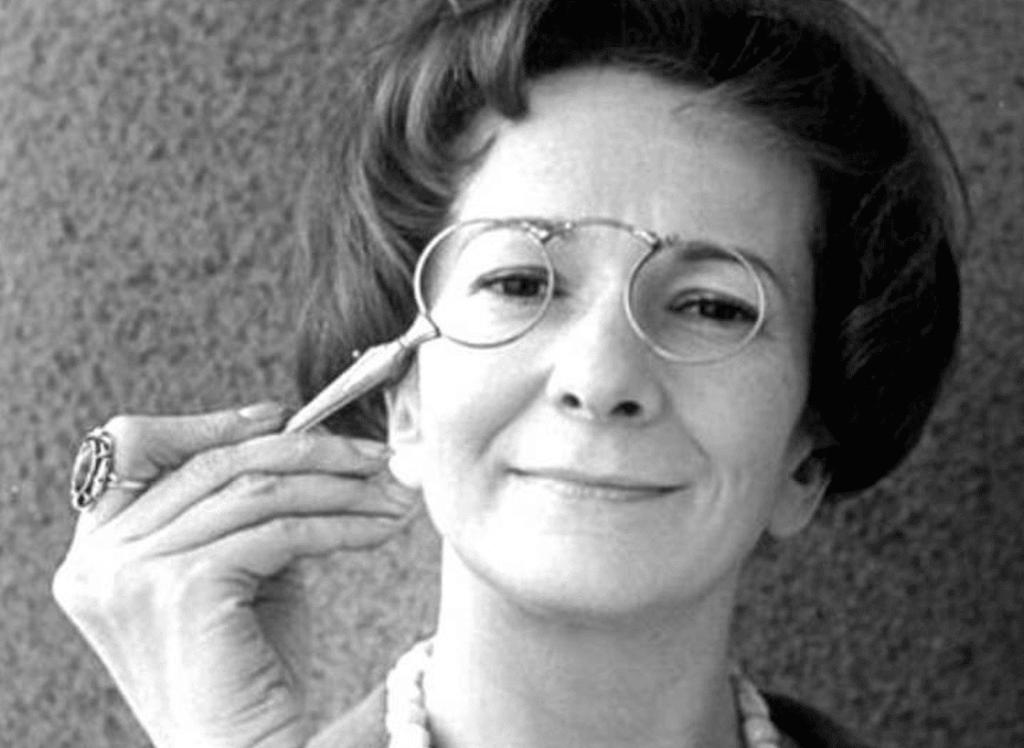 Wyslawa Szymborska quando jovem