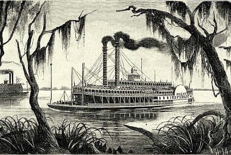 Desenho de barco antigo