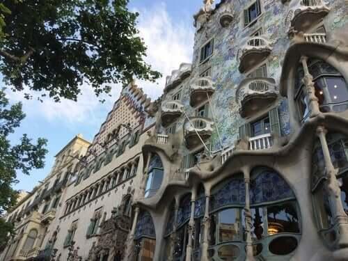 A Casa Batló de Antoni Gaudí