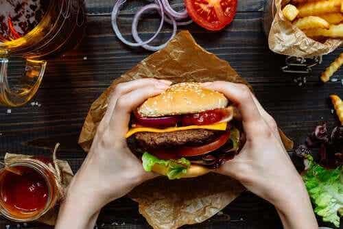 Os efeitos do junk food no cérebro