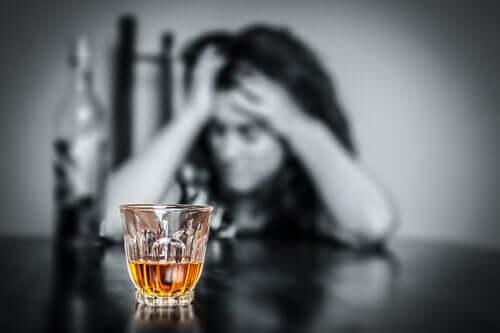 Efeitos do consumo de uma grande quantidade de álcool