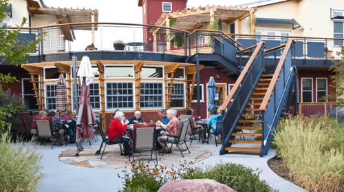 Comunidade de cohousing para idosos