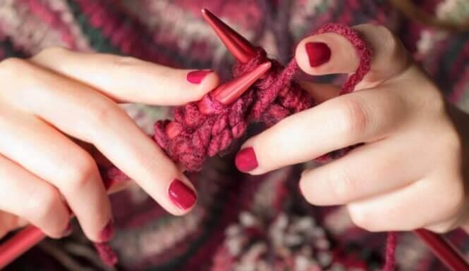 Os benefícios do tricô