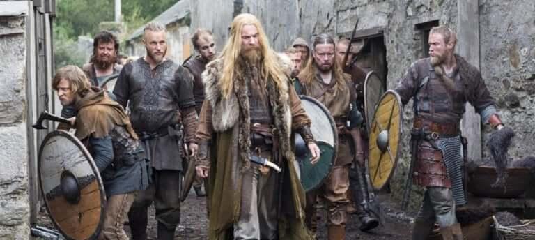 Cena da série Vikings