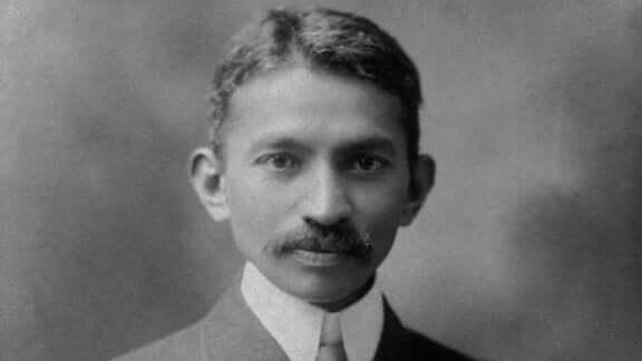 Mahatma Gandhi jovem
