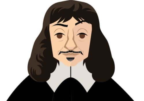 Ilustração de René Descartes