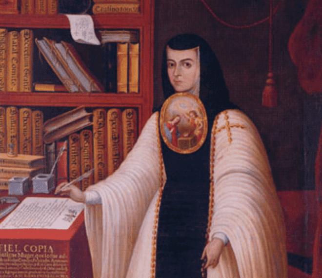 Pintura de Sóror Juana