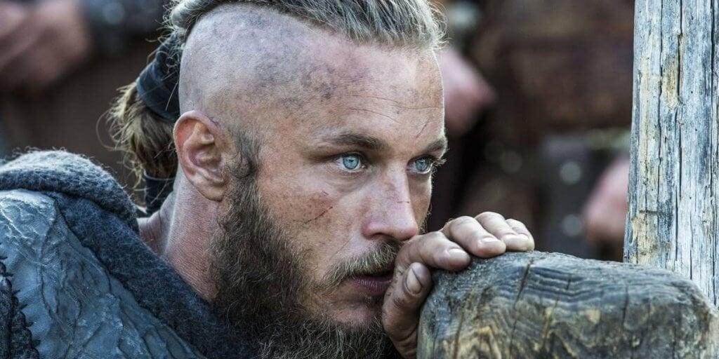 Ragnar Lodbrok na série vikings