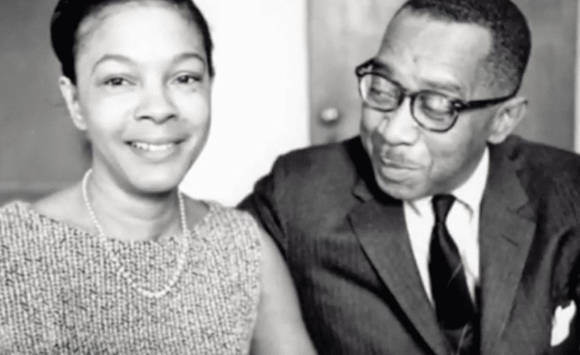 Kenneth B. Clark com sua esposa