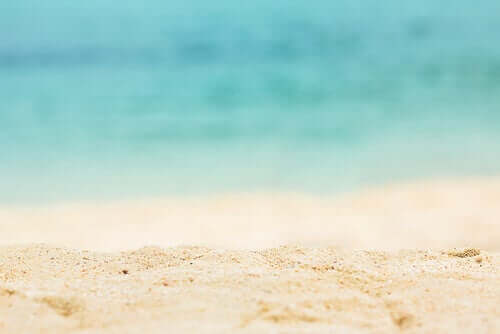 A calma transmitida pelo mar