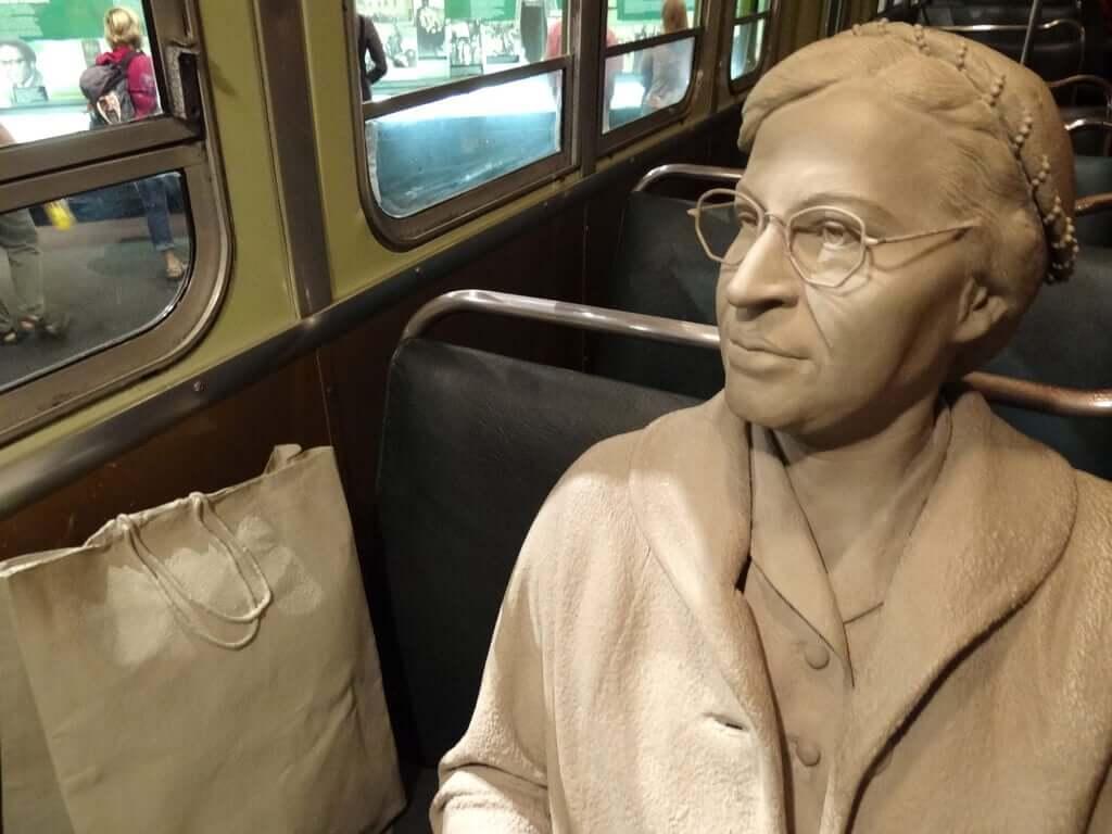 Escultura de Rosa Parks