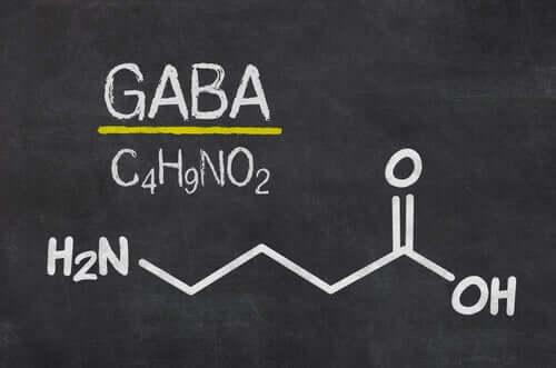 Fórmula neurotransmissor GABA