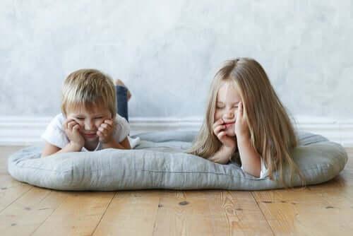 A importância do tédio para as crianças
