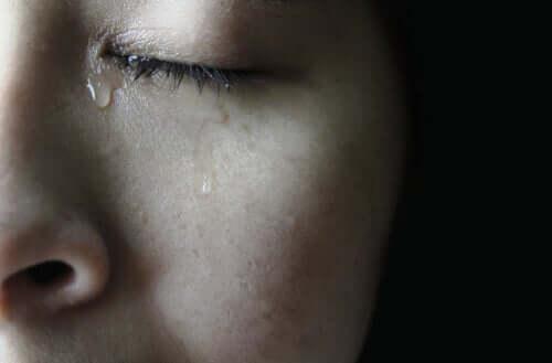Lágrimas de tristeza