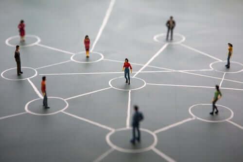 As conexões entre as pessoas