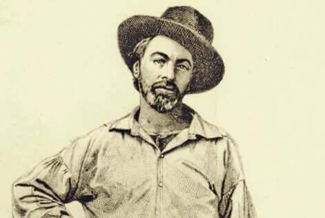 Walt Whitman jovem