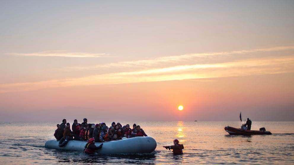 Refugiados resgatados