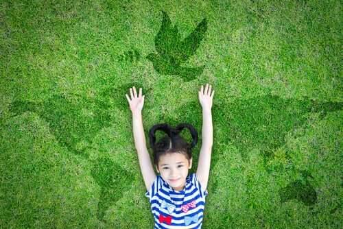 Três maneiras de explicar o que é a paz às crianças