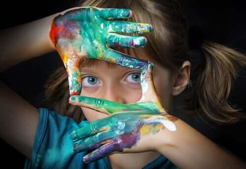 A criatividade das crianças