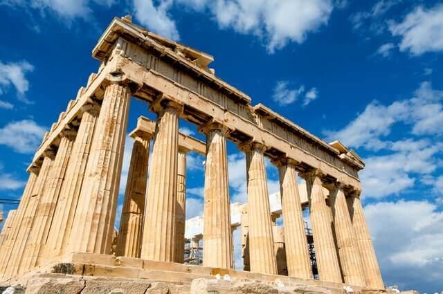 Partenon na Grécia