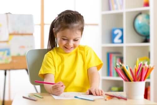 Os benefícios psicológicos dos passatempos para as crianças