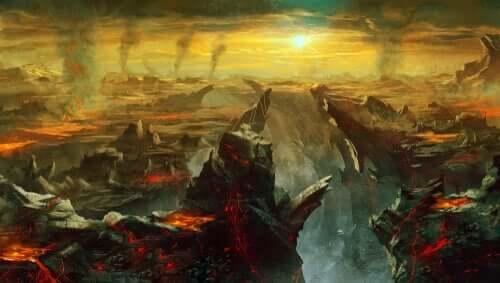 Representação do inferno