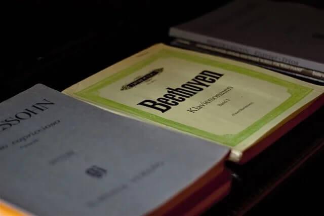 Livro de composições de Ludwig van Beethoven