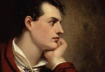 Lord Byron jovem
