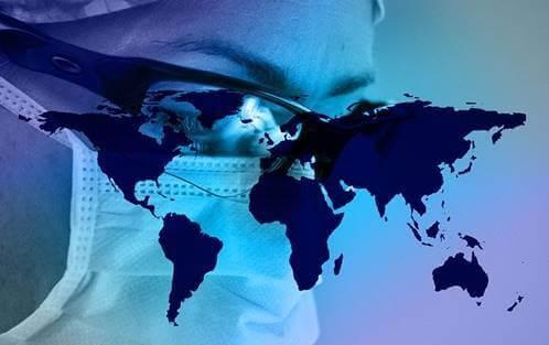 Mundo invadido pelo coronavírus