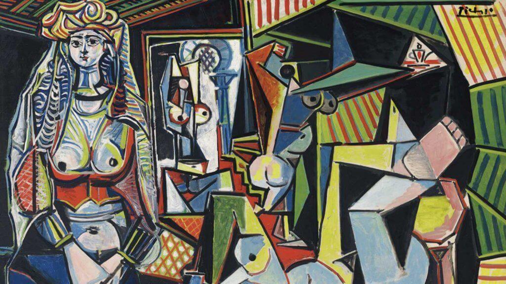 Um dos quadros de Pablo Picasso