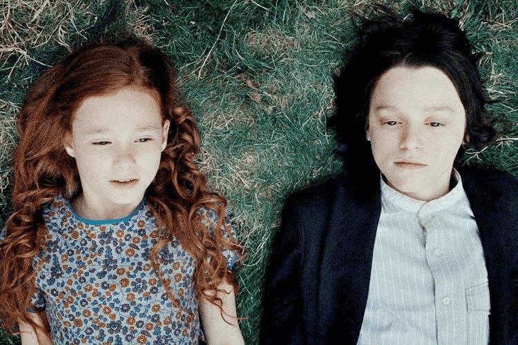Severo Snape quando criança