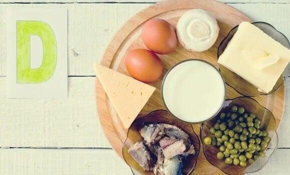 Alimentos que contêm vitamina D