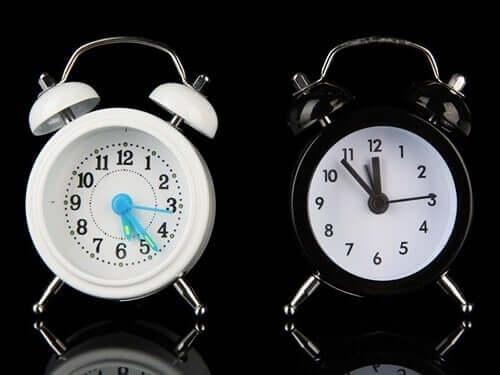 Os dois relógios cerebrais